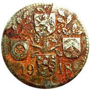 10 pfennig nécessité (Dieburg) – revers
