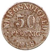 50 pfennig (Herzogtum Braunschweig) -  revers