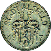 10 Pfennig (Alsfeld) – avers
