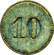 10 Pfennig (Alsfeld) – revers