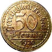 50 Pfennig Westfalen Lembeck – avers