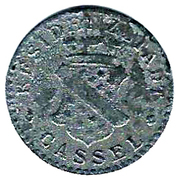 5 pfennig (Cassel) – avers