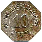 10 Pfennig (Eschwege) – revers