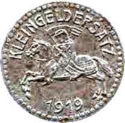 15 pfennig nécessité (Marburg) – revers