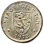 10 pfennig (Giessen) – avers
