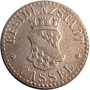 10 pfennig (Cassel) – avers