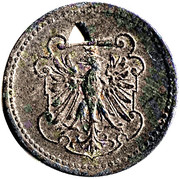 10 pfennig (Frankfurt a.M.) – revers