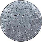 50 Pfennig - Cassel (Camp de prisionners) – avers