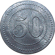 50 Pfennig - Cassel (Camp de prisionners) – revers
