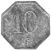 10 Pfennig (Heddernheim Copper Works) – revers