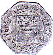 5 pfennig (Pirmasens) – avers