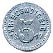5 Pfennig (Speyer) – revers