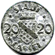 20 Pfennig (Cassel) – avers