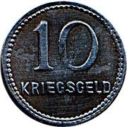 10 Pfennig (Kaiserslautern) [Stadt, Pfalz] – revers