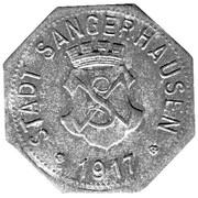 5 Pfennig (Sangerhauser) – avers
