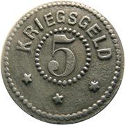 5 pfennig (Zell im Wiesental)) – revers