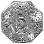 5 Pfennig (Sangerhauser) – revers