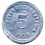 5 Pfennig ( QUERFURT) – revers