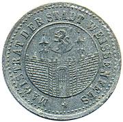10 pfennig (Weissenfels) – avers