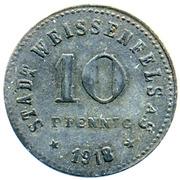 10 pfennig (Weissenfels) – revers