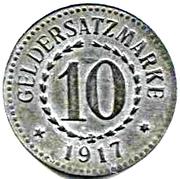 10 Pfennig  (Posen) – revers
