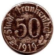 50 pfennig  ( Frankenthal ) – avers