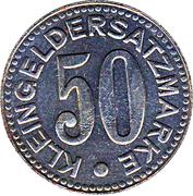 50 Pfennig (Pirmasens) [Stadt, Pfalz] – revers