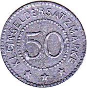 50 Pfennig (Annweiler) – revers