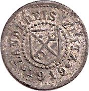 5 Pfennig (Zeitz) – avers