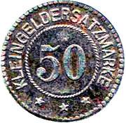 50 pfennig (Pirmasens) – revers