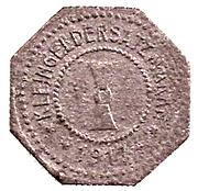 5 Pfennig (Mühlhausen in Thüringen) [Stadt, Sachsen] – revers
