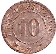 10 Pfennig (Ostrowo) [Stadt, Posen] – revers