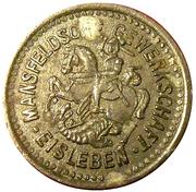 1 Pfennig MANSFELDSCHE EISLEBEN (monnaie de nécessité) – avers