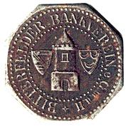 10 Pfennig (Bitterfeld) – avers