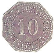 10 Pfennig (Bitterfeld) – revers