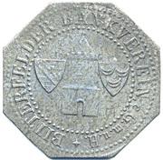 25 Pfennig Bitterfeld Zink – avers