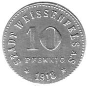 10 Pfennig (Weissenfels) -  revers