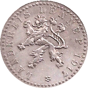 10 Pfennig (Lennep) [Kreis, Rheinprovinz] -  avers
