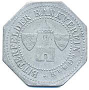 50 Pfennig Bitterfeld Zinc – avers