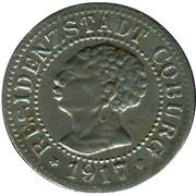 5 Pfennig (Coburg) – avers