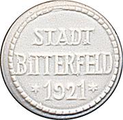 1 mark (Bitterfeld) [Stadt] – revers