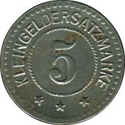 5 Pfennig (Coburg) – revers