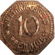 10 Pfennig (Thale am Harz) [Gemeinde, Sachsen-Anhalt] – revers