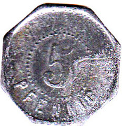 5 Pfennig (Hamborn) – revers