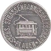 5 Pfennig (Plauen) [Strassenbahn, Württemberg] – avers