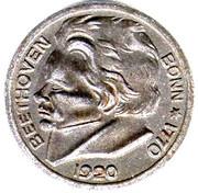 10 pfennig (Bonn ; Ludwig van Beethoven) -  revers