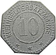 10 Pfennig (Trier) [Private, Hermann Haas] – revers