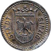 50 Pfennig Sinzig [Stadt, Rheinprovinz] – avers