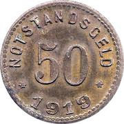 50 Pfennig Sinzig [Stadt, Rheinprovinz] – revers