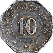 10 Pfennig (Langerfeld) – revers